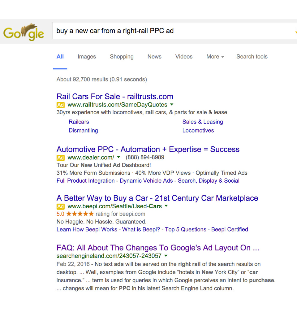 Search Ads - PPC Management