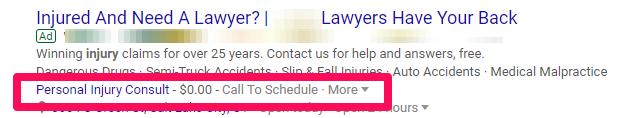 Law PPC management